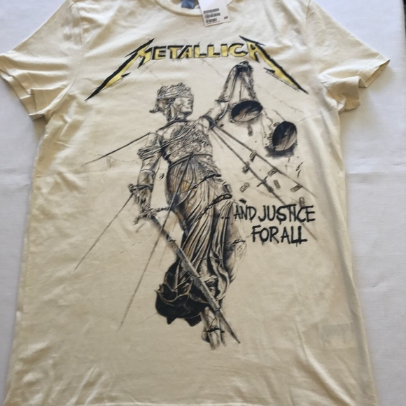 And Justice For All T-shirt Metallica ..